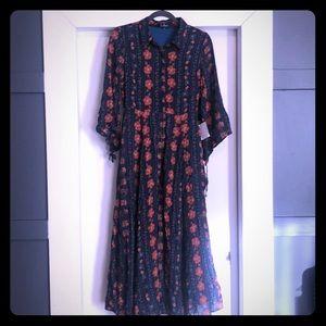 Long boho dress from Lulus size s. NWT
